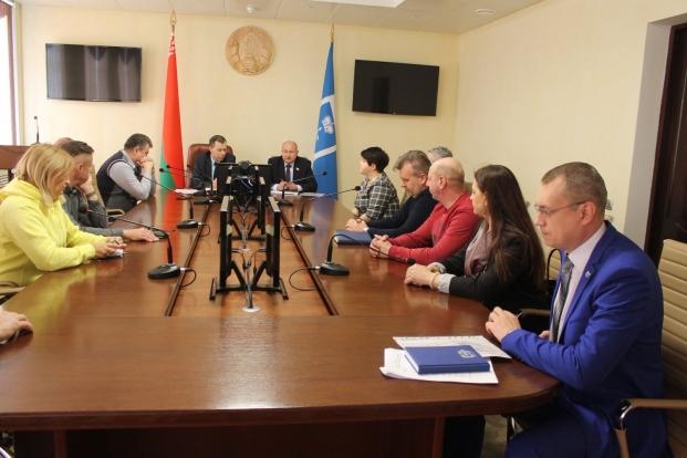 Заседание Совета предпринимателей Лунинецкого района