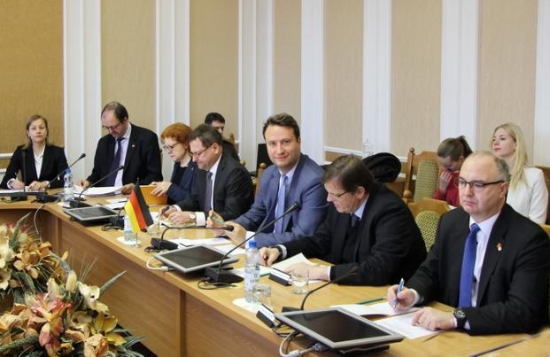 Рабочая встреча парламентариев Беларуси и Германии