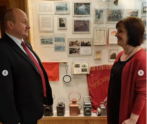 Посещение краеведческого музея в г.Ганцевичи