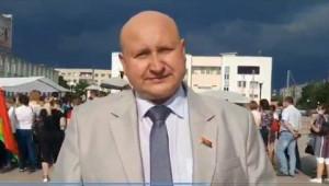 Пикет в г.Микашевичи по сбору подписей